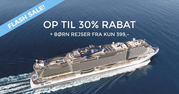 Spar 30% med MSC Seaview fra Kiel 2021
