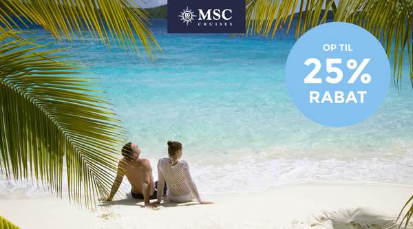 Krydstogter i Caribien 2022 med MSC Cruises