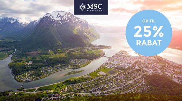 Krydstogter i Nordeuropa 2022 med MSC Cruises