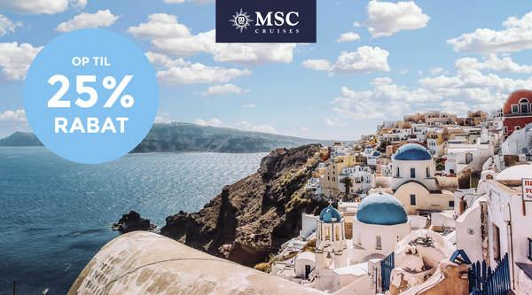 Krydstogter i Middelhavet 2022 med MSC Cruises